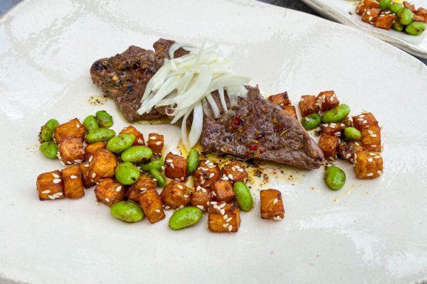 goveji zrezki sladki krompir edamame6