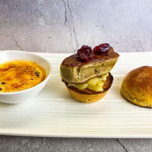 foie gras burger in crema catalana13