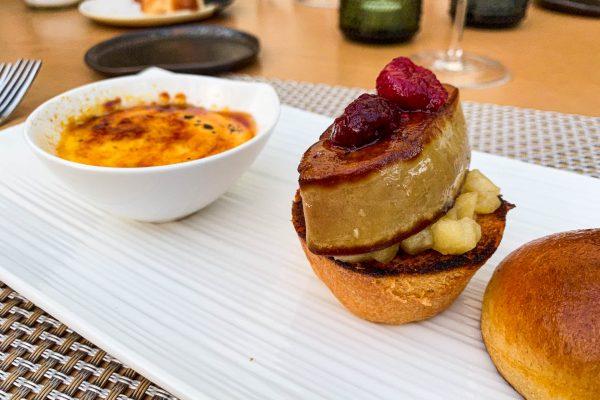 foie gras burger in crema catalana5