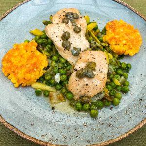 piščanec koruza zelenjavna solata049