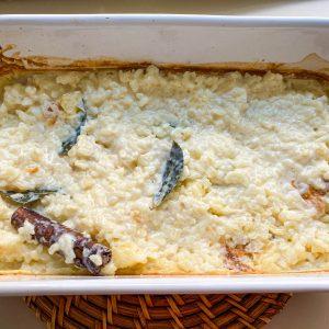 Mlečni riž z rabarbaro in pehtranom026