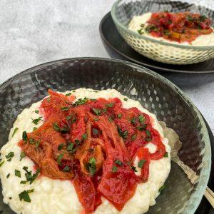 Mlečni riž z rabarbaro in pehtranom028