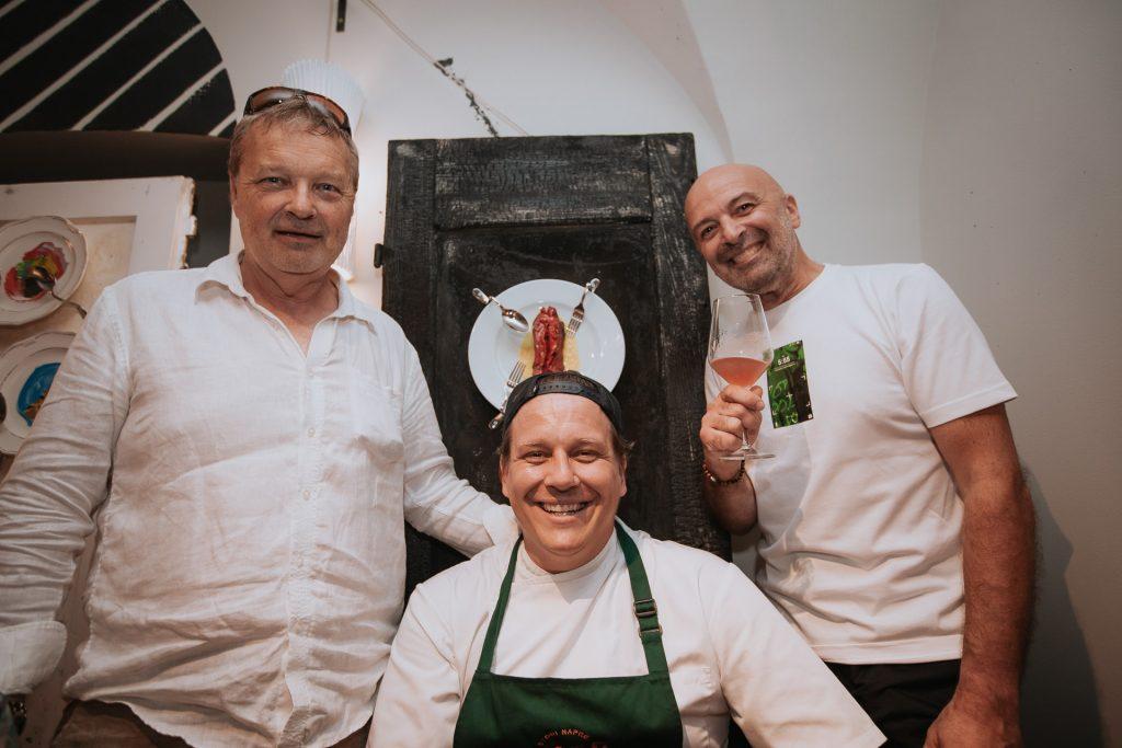 Roman Slekovec, Jorg Zupan, Matjaž Ivanc foto Sous Chef