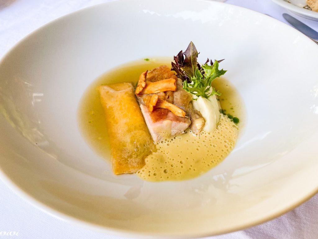 Vila Podvin, pečen piščanec, kurja juha, testenine, gosja jetra, tepka3