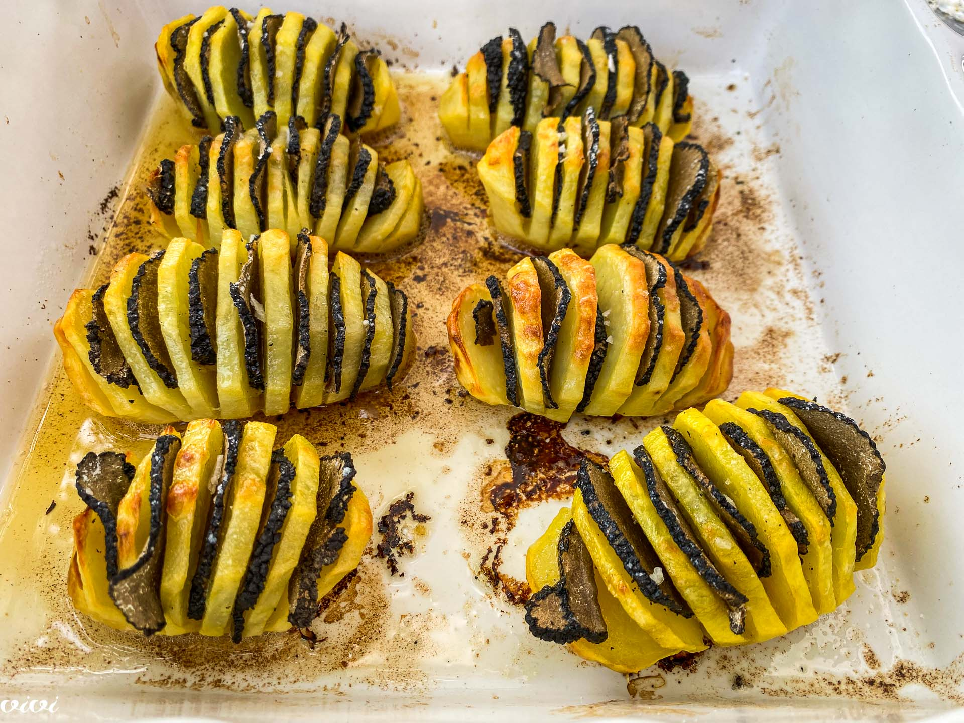 Pečen krompir, tartufi in rikota148