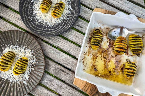 Pečen krompir, tartufi in rikota177