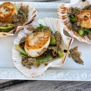 Pokrovače s solato in poletnimi tartufi5