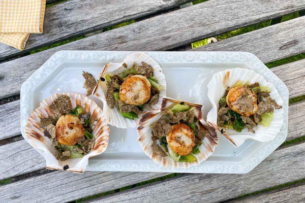 Pokrovače s solato in poletnimi tartufi6